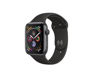 Apple Watch Series 4 (GPS) 44mm - Space Grey with Black Sport Band