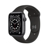 Apple Watch Series 6 GPS 44mm Space Gray Aluminium Case with Black Sport Band