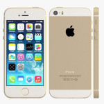 Apple iPhone 5S 16GB Gold INKL SKÆRMBESKYTTELSE
