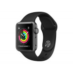 Apple Watch Series 3 38 mm (grå sportsrem)